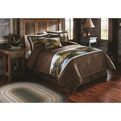 The Wyoming Collection Platform Bed Size: King
