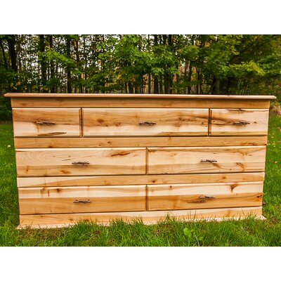 Nativ Living Mountain Maple 7 Drawer Dresser