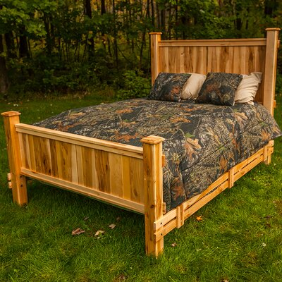 Nativ Living Mountain Maple Panel Bed Size: Full