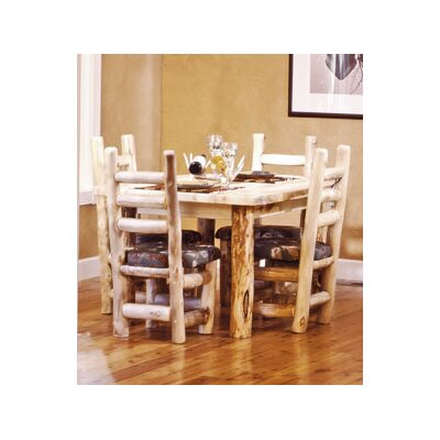 Aspen Heirloom Dining Table Finish: Beeswax / Linseed Oil, Size: 30 inch H x 84 inch W x 45 inch D