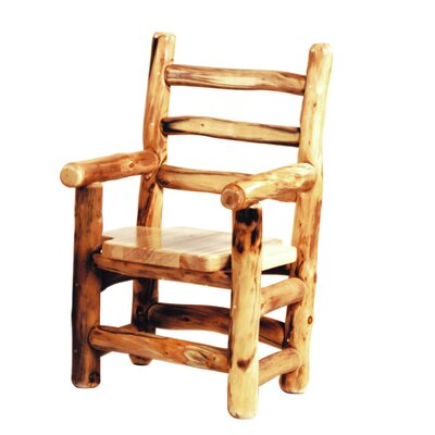 Hilary Solid Wood Dining Chair Finish: Bronze Aspen