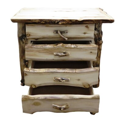 Aspen Grizzly 5 Drawer Lingerie Chest Color: Golden Poly