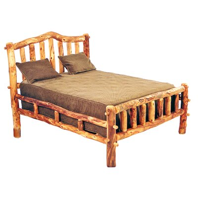 Aspen Heirloom Snowload I Platform Bed Size: King, Color: Golden Poly