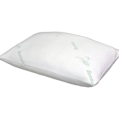 Memory Foam Pillow Size: 35 W x 18 H