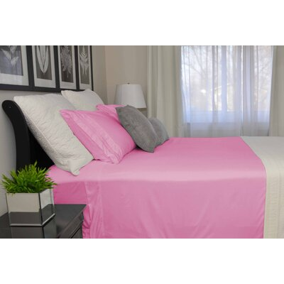 9900 Platinum Series Deep Pocket Sheet Set Size: King, Color: Dark Rose