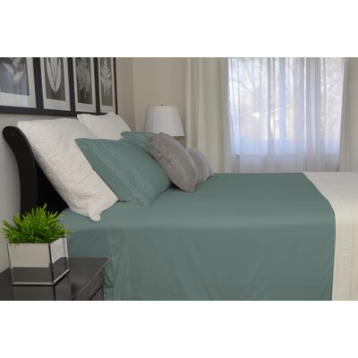9900 Platinum Series Deep Pocket Sheet Set Size: Twin, Color: Teal