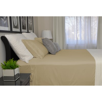 9900 Platinum Series Deep Pocket Sheet Set Size: Full/Double, Color: Tan