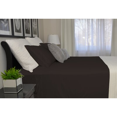 9900 Platinum Series Deep Pocket Sheet Set Color: Brown, Size: Twin