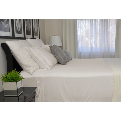 9900 Platinum Series Deep Pocket Sheet Set Size: Twin, Color: Beige