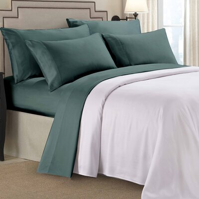 9000 Gold Series Sheet Set Color: Teal, Size: Full/Double