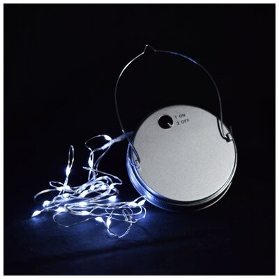 Moon Bright LED Mason Jar Light Bulb Type: Cool White
