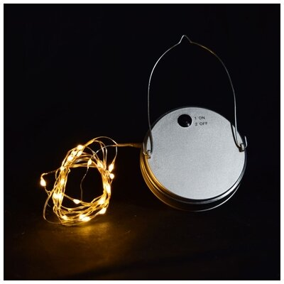 Moon Bright LED Mason Jar Light Bulb Type: Warm White WMJ004-WW