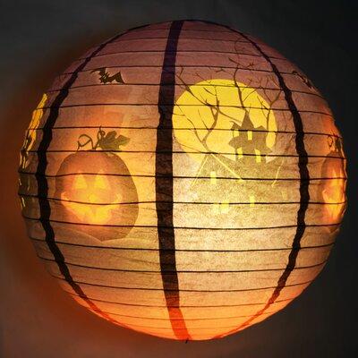 Haunted House Halloween Paper Lantern 12PAT-HOU