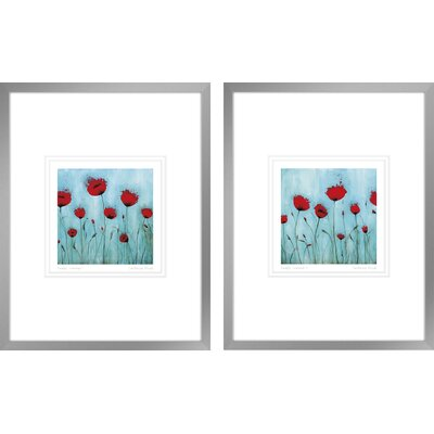 'Endless Summer I, Endless Summer II' by Catherine Brink 2 Piece Framed Painting Print Set CHRL5434 40157927