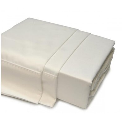 1000 Thread Count 100% Egyptian Quality Cotton Sheet Set Size: Queen, Color: Ivory
