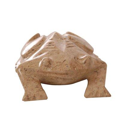 Frog Marble Figurine Frog