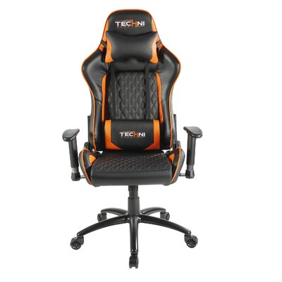 Office PC Gaming Chair Color: Orange