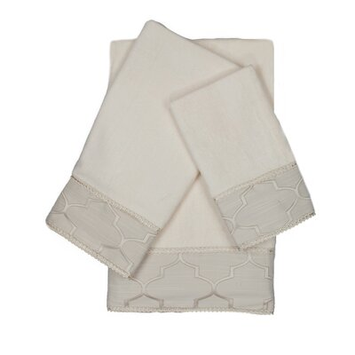 Stanton Gimp 3 Piece Towel Set
