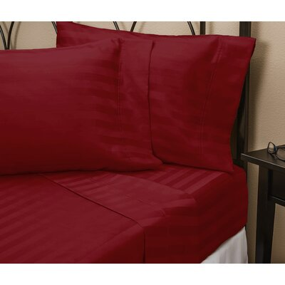 Sheet Set Size: Double, Color: Scarlet