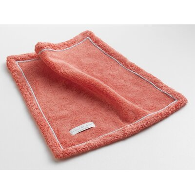 Orchard Ultra Absorbent Washcloth Color: Coral