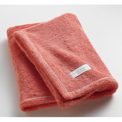 Orchard Ultra Absorbent Bath Towel Color: Coral
