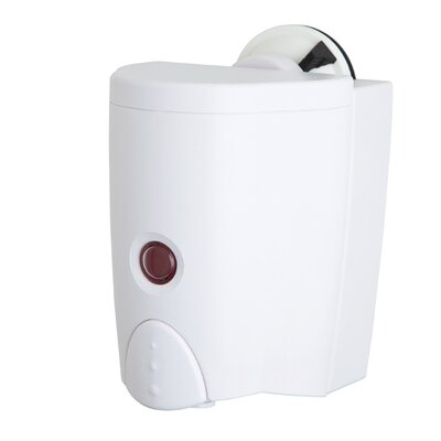 No Drilling Soap Sanitizer Dispenser with Powerful Suction Cup