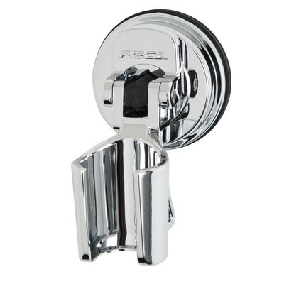 ABS Plastic Wall Mounted Showerhead Bracket Holder Finish: Chrome