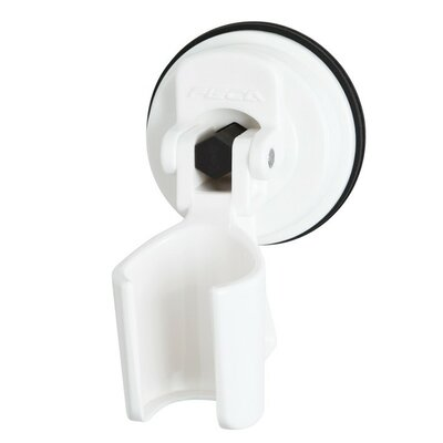 ABS Plastic Wall Mounted Showerhead Bracket Holder Finish: White
