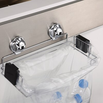 Portable Plastic Trash Bag Holder for Kitchen, Grill, Recycle FE-K1014