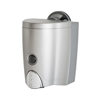 Damage Free Wall Mount Sanitizer Soap Dispenser with Powerful Suction Cup
