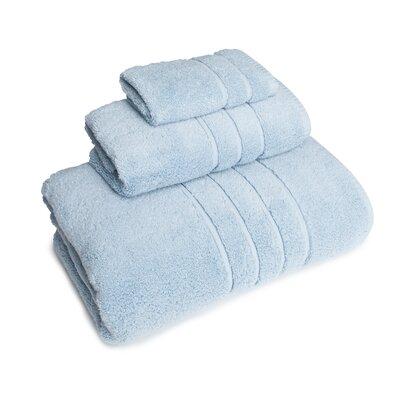 3 Piece Towel Set Color: Atmosphere Blue