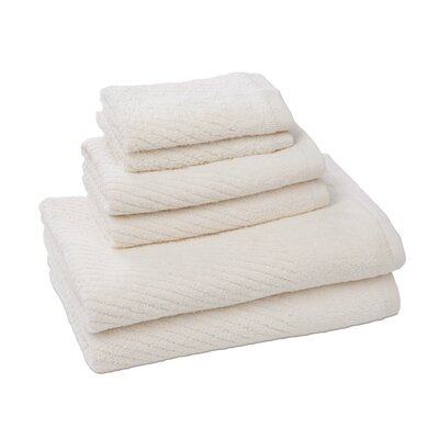 New Cambridge Quick Dry 6 Piece Towel Set Color: Ivory