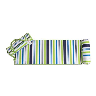 Rolled Beach Towel Color: Green