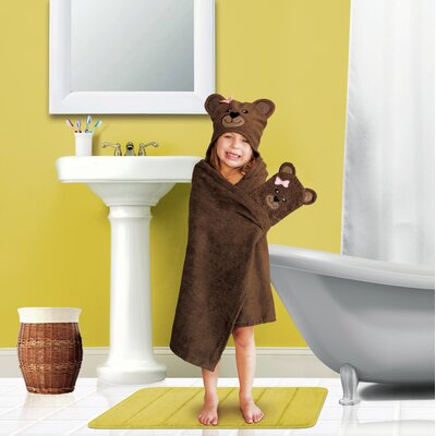 Tub Time Tots 2 Piece Bear Towel Set