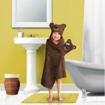Tub Time Tots 2 Piece Bear Towel Set 7630TFBEAR