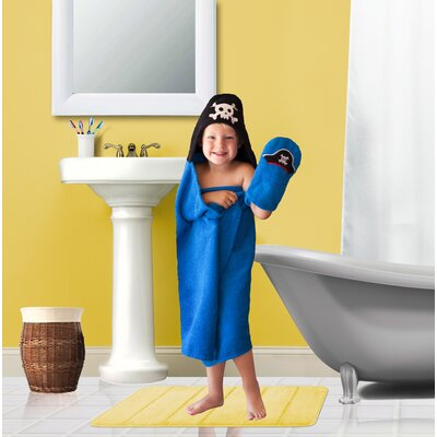 Tub Time Tots 2 Piece Pirate Towel Set