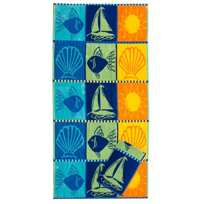 Archmont Signs Of Summer Beach Towel Set