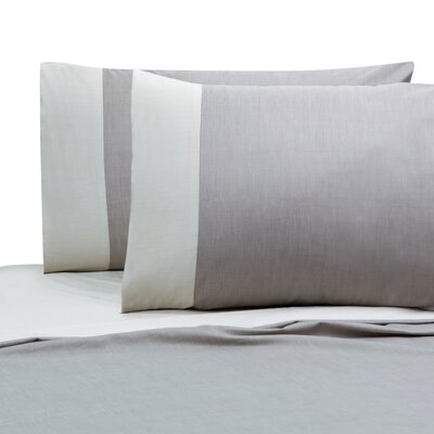Jani Cotton Pillow Case Size: King