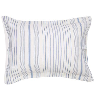 Creston Striped Sham Size: Standard/Queen