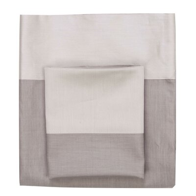 Jani 300 Thread Count 100% Cotton 4 Piece Sheet Set Size: Queen
