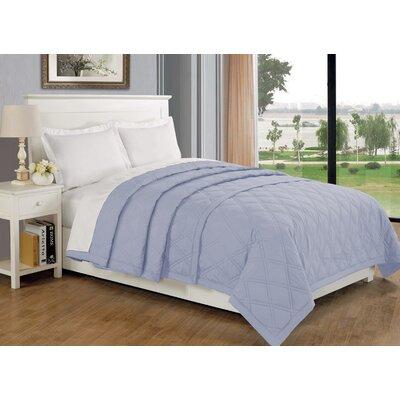 Eckhardt Home Blanket Size: Full/Queen, Color: Light Blue