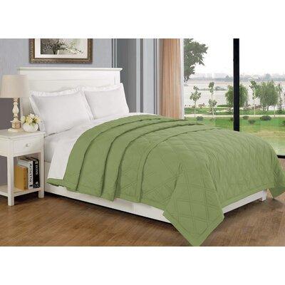 Eckhardt Home Blanket Size: King, Color: Sage