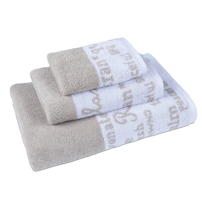 Blankenship 3 Piece Towel Set Color: Oxford Tan