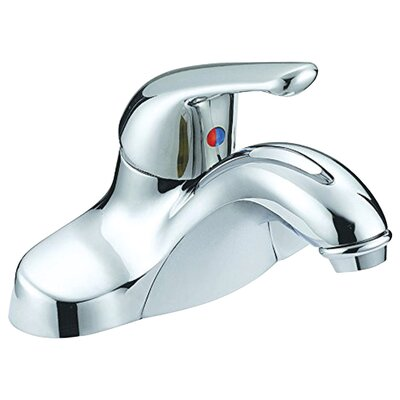 Single Handle Single Hole Standard Bathroom Faucet with Drain Assembly