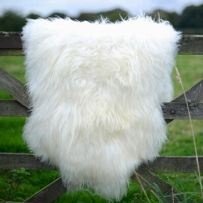 Giant Size Genuine Sheepskin Soft Wool White Area Rug
