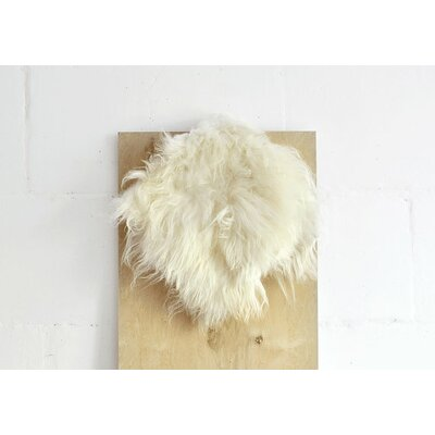 Sheepskin Barstool Cushion