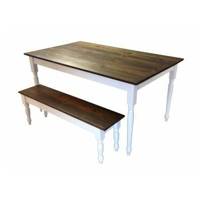 Auberta Rectangular Solid Wood Dining Table