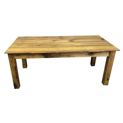 Dining Table Base Finish Barnwood