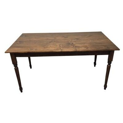 Coventry Rectangular Wood Dining Table Finish: Walnut