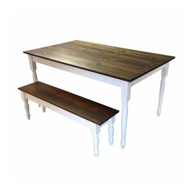 Auberta Solid Wood Dining Table